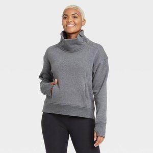 Women's Asymmetrical Zip Pullover Size L